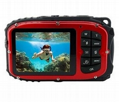 720P Resolution 30 Feets Waterproof Action Camera