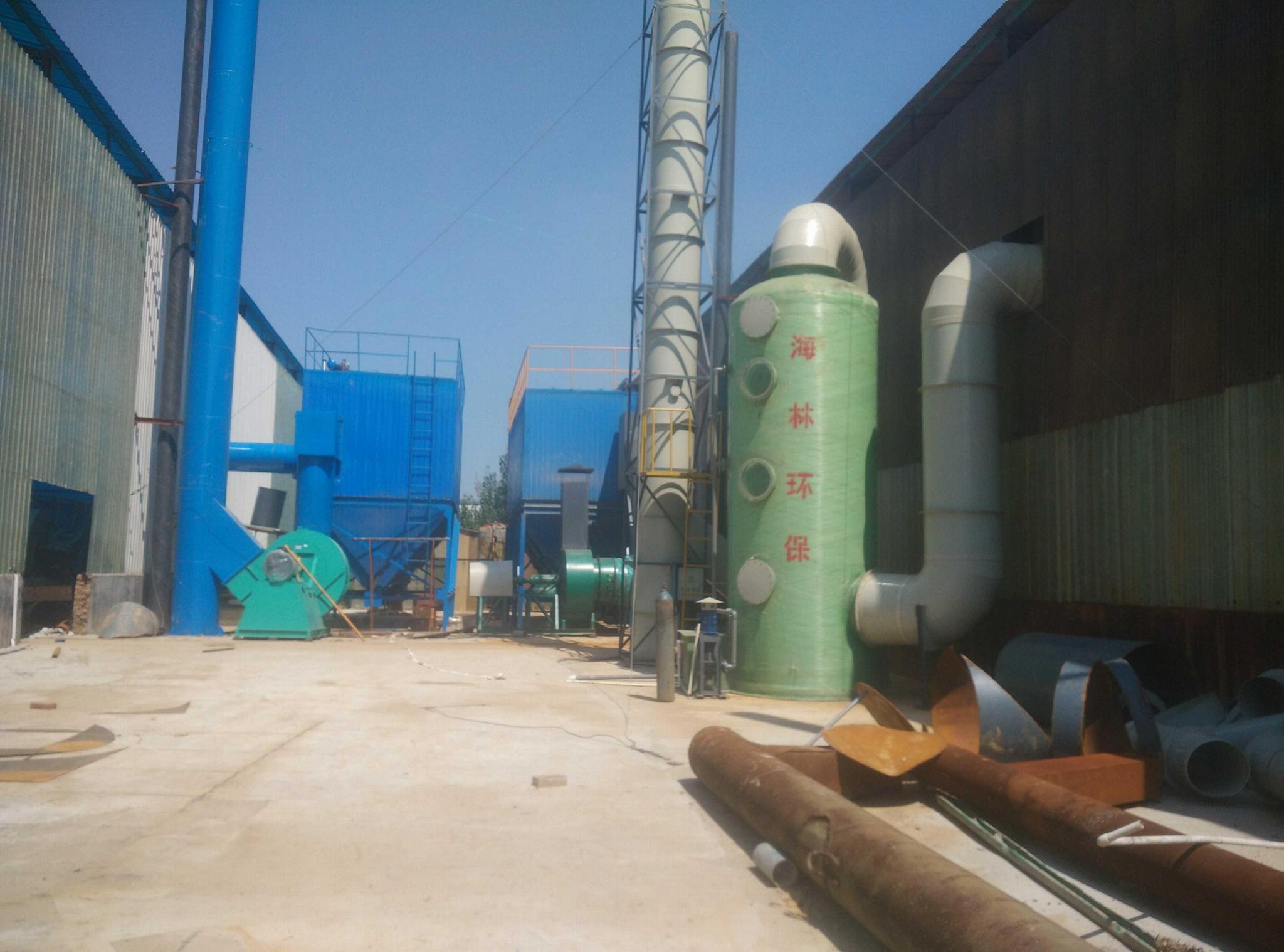 供應 山東廢氣處理設備廠家 脈衝除塵器 1