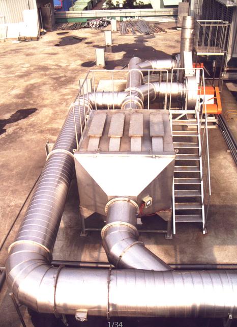 供應 山東廢氣處理設備廠家 VOC活性炭吸附塔 1
