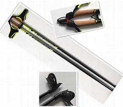 Cross country ski pole OEM factory Carbon pole or Aluminium Pole