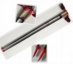 Roller Ski Pole OEM factory Carbon pole or Aluminium Pole
