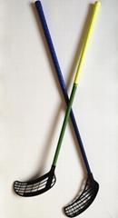 Floorball Sticks IFF Standard Fiberglass shaft or Carbon shaft