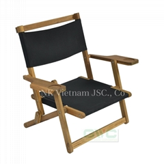 Foldable Wood Leisure Chair Outdoor Furniture