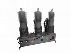 CHZW32-35kv型户外高压真空重合器高压真空断路
