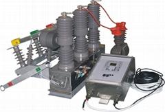 zw32-12M永磁式高壓真空斷路器(硅橡膠)