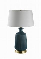 Texture ceramic table lamp