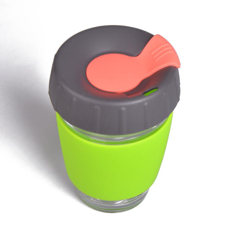 Wingenes Newest design silicone coffee cup, reusable coffee cup 1