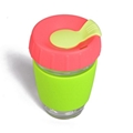 Wingenes Newest design silicone coffee cup, reusable coffee cup 2
