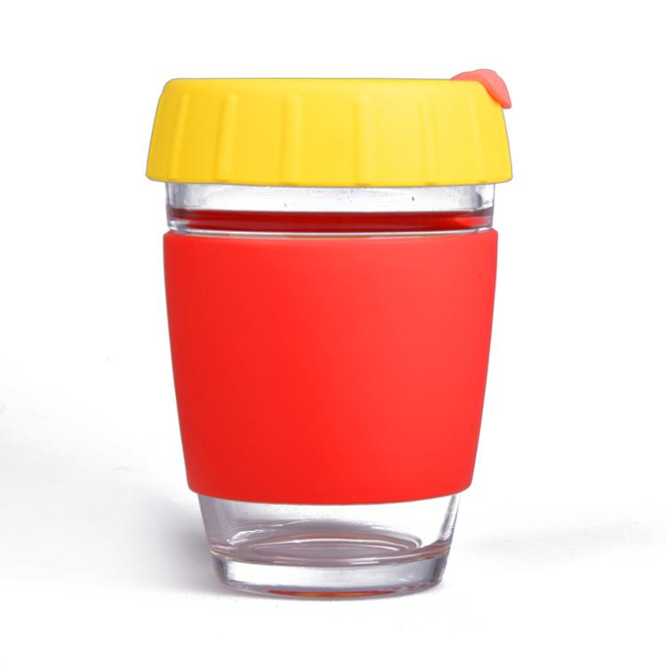 Wingenes Newest design silicone coffee cup, reusable coffee cup 3