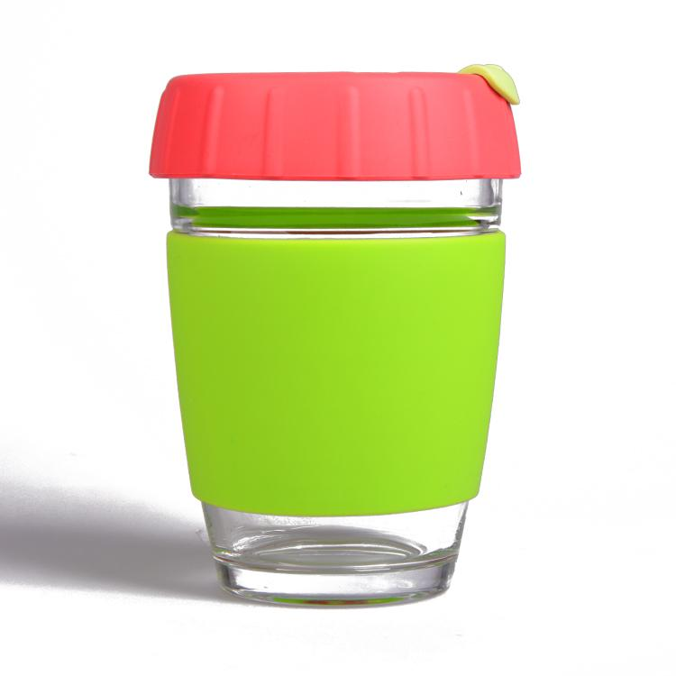 Wingenes Newest design silicone coffee cup, reusable coffee cup 5