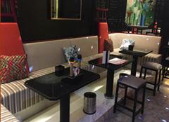 香港KTVU型拉扣沙发订做卡位带储物,餐枱带储物,防火证书