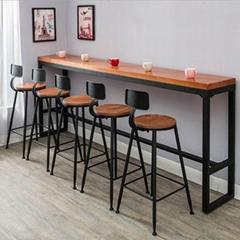 餐廳吧台定做大理石吧台廠家飯檯定製