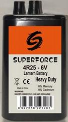 Battery 4R25-6V-7Ah for Warning Lights