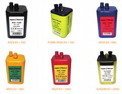 4R25 6V - Blockbatterie, Zink-Kohle, Laternenbatterie IEC 4R25 (Hot Product - 1*)
