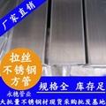永穗201不锈钢方管家具结构用管塑性硬度良好 2