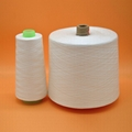 40S/2 Hubei Yarn Raw white on paper cone TFO virgin bright 100% spun polyester