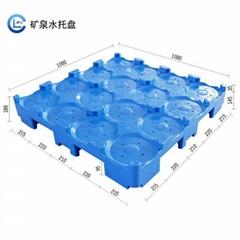 桶裝水塑料托盤大桶水專用隔板