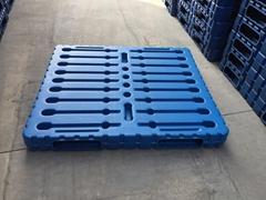 鹽業用塑料托盤中空重型叉車墊板