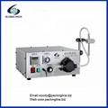 Semi automatic pump liquid filling