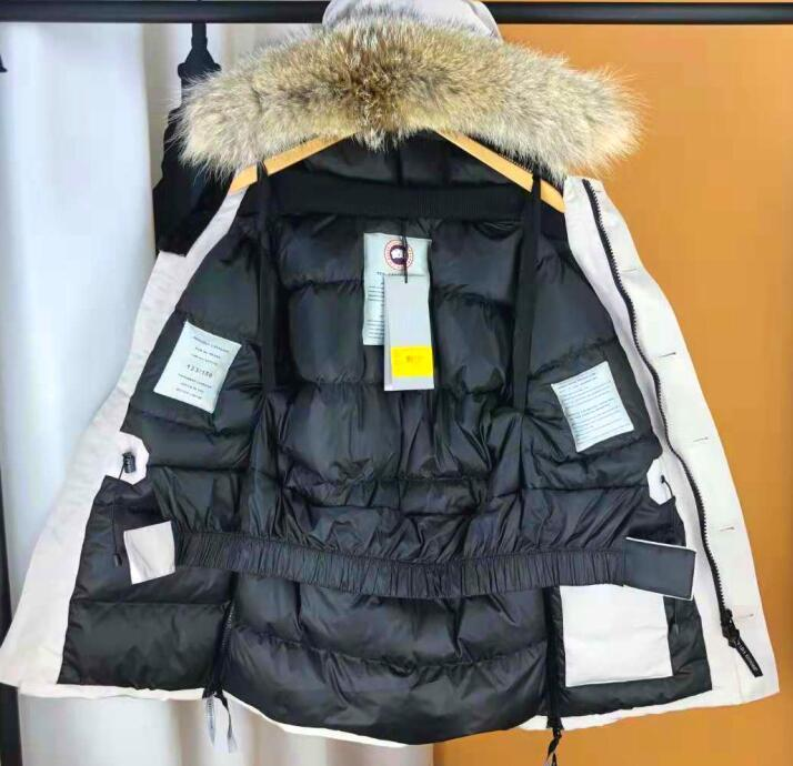 Goose winter down jacket men medium style  thick goose collar anniversary