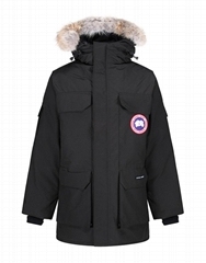 GENUINE CANADA GOOSE MEN'S EXPEDITION PARKA JACKET - BLACK