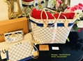 New Louis Vuitton Monogram Kabuki Neverfull MM LV women handbag cheap sale