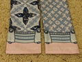 Louis Vuitton Silk Animalle Fish Bandeau in Blue/Light Pink lv cheap scarf sale 8