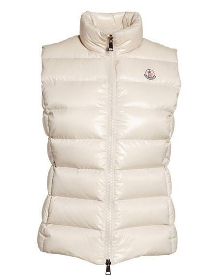 3c0f0f64e Moncler Ghany Water Resistant Shiny Nylon Down Puffer Vest - fashion ...