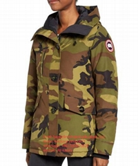 CANADA GOOSE Rideau Slim Fit Down Parka women and man winter jacket