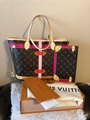 LOUIS VUITTON NEVERFULL MM BAG SUMMER TRUNKS 2018 LIMITED EDITION MONO