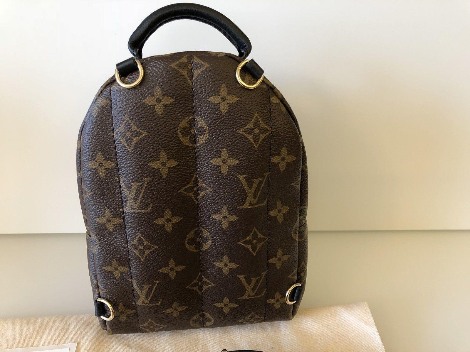 77cc89d0a62 Louis Vuitton Palm Springs Mini Backpack Monogram LV backpacks ...