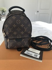 LOUIS VUITTON SUPREME Apollo Camo Nano Backpack Mini Book Bag Monogram M44201