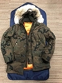 Louis Vuitton Supreme Down Jacket Coat Hoody Parker Camouflage winter lv jackets 1