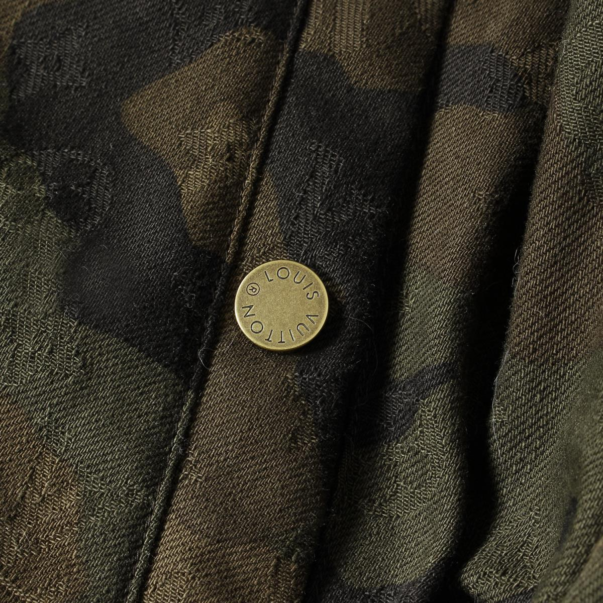 Louis Vuitton Supreme Down Jacket Coat Hoody Parker Camouflage winter lv jackets 7