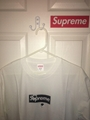 Supreme Box Logo Tee T-Shirt men women short sleeve cotton tshirts cheap sale