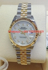 Rolex Lady Datejust 28mm 279173 Bi Colour Box and Papers 2018