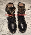 Round head Martin boots leather rivet