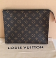 Louis Vuitton Toiletry Pouch 26 Monogram Cosmetic Bag & 2 Parfums!
