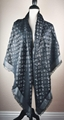 LV Monogram Silk/Wool Shine Scarf/Shawl lv scarves cheap M75123 Louis Vuitton 4