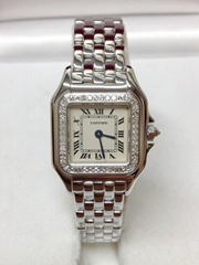 Cartier Panthere WF3091F3 Ladies 22mm White Gold - Serviced By Cartier!