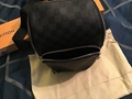 Louis Vuitton Damier Shoulder Crossbody Body Bag Belt Fanny Bum Bag Backpack