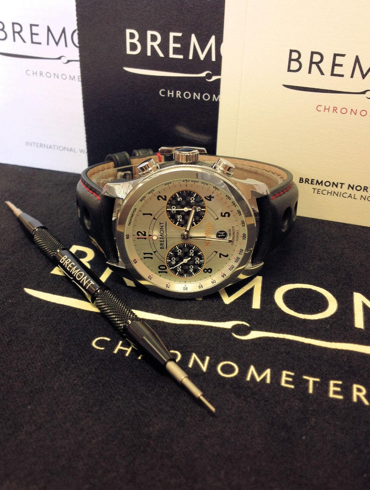 Bremont Norton Limited Edition Of 200 - Box & Paperwork 2017