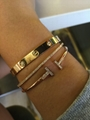 Cartier 18K Yellow Gold Love Bracelet Bangle Shop Cartier Love Bracelets cheap  14