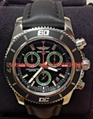 Details about  Breitling Superocean A73310 M2000 Chronograph Green - Box & Pape