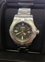 Details about  Breitling Avenger II Seawolf A17331 Tungsten Grey Dial - Box & Pa
