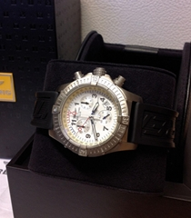 Details about  Breitling Avenger M1 E73360 White Dial - Box & Paperwork
