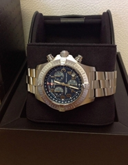Breitling Avenger Seawolf Chronograph A73390 Blue Dial - Box & Paperwork (Hot Product - 1*)