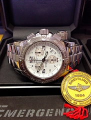 Breitling Emergency Mission A73321 White Dial - Box & Papers 2006