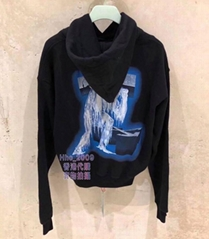 Off-White Hooded Sweatshirt Black hoodies hoody buy sweatshirts Pull Over Jamper