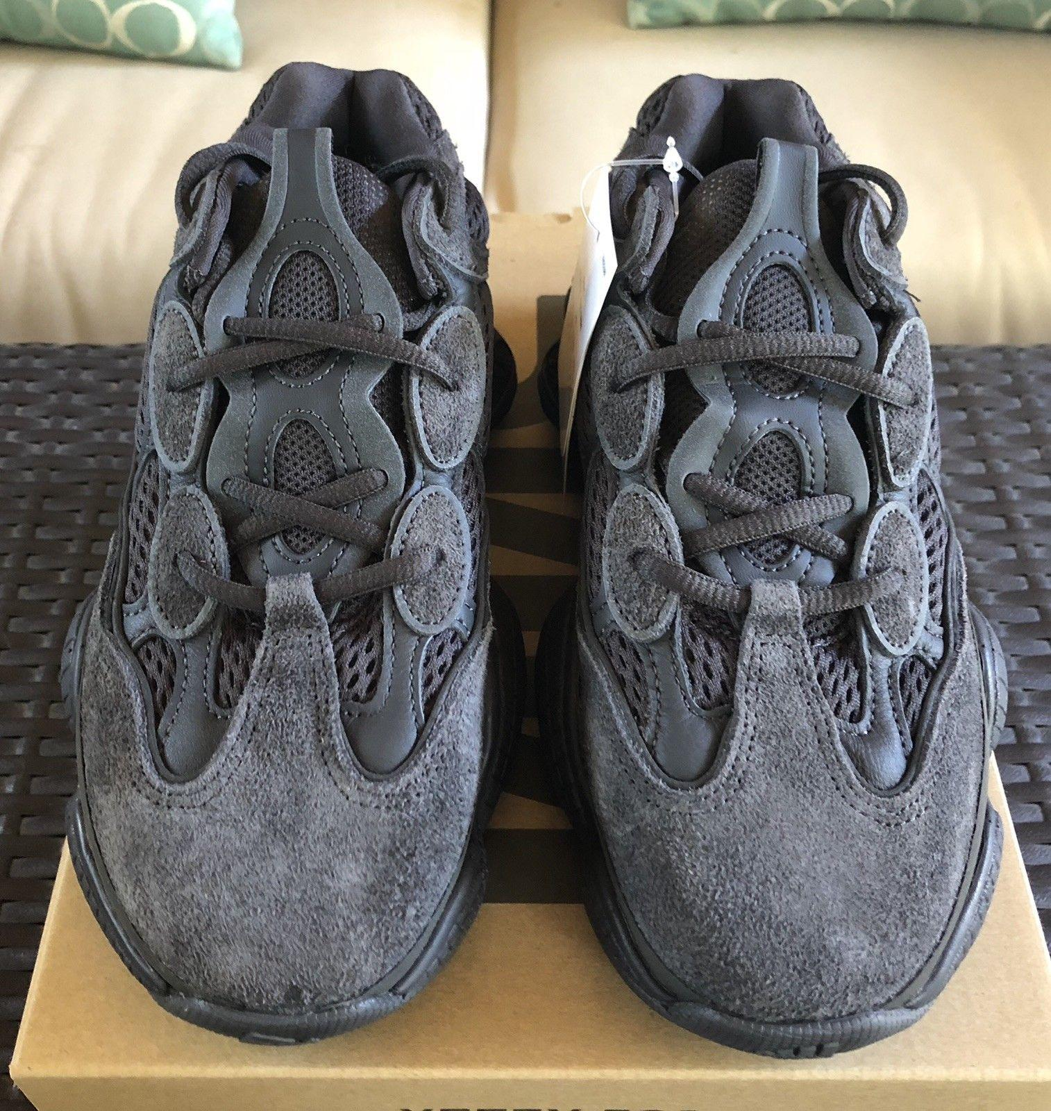 Adidas Yeezy 500 Utility Black Kanye West Boost Mens women shoes Best Offer